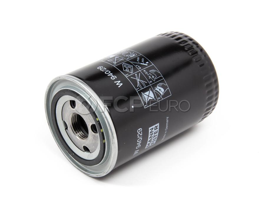 Porsche Engine Oil Filter - Mann W94029