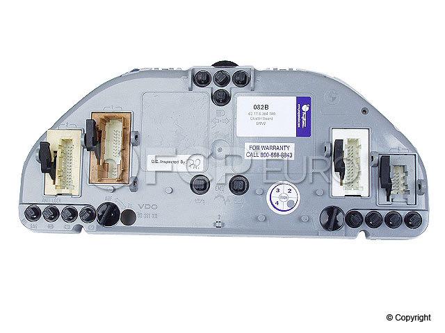 BMW Instrument Panel Circuit Board - Programa 62111390082