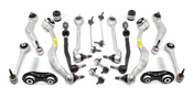 BMW 18-Piece Control Arm Kit - 525E3918PIECE-LAT
