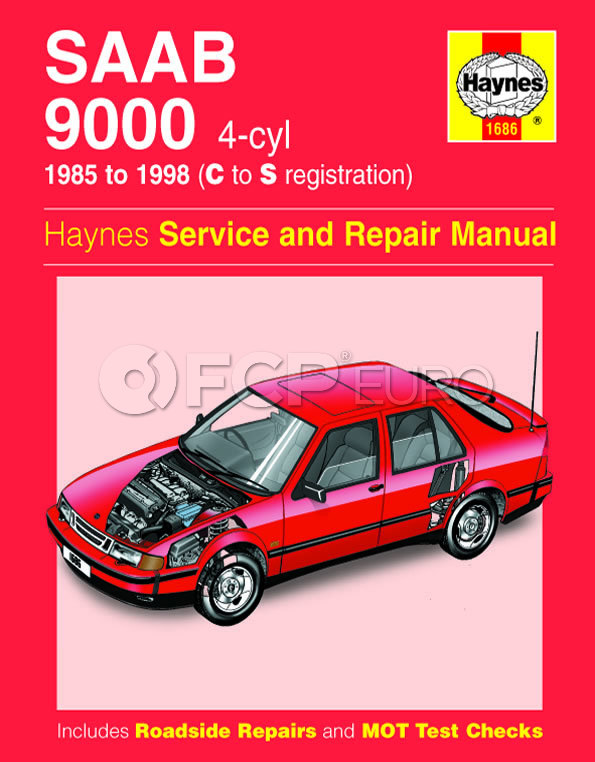 Saab Haynes Repair Manual - Haynes HAY-1686