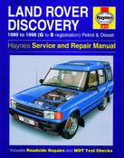 Land Rover Repair Manual - Haynes HAY-3016