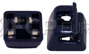 Mercedes Sun Visor Bracket (Blue) - Genuine Mercedes 12681000125076