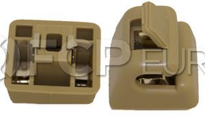 Mercedes Sun Visor Bracket (Cream) - Genuine Mercedes12681000128412