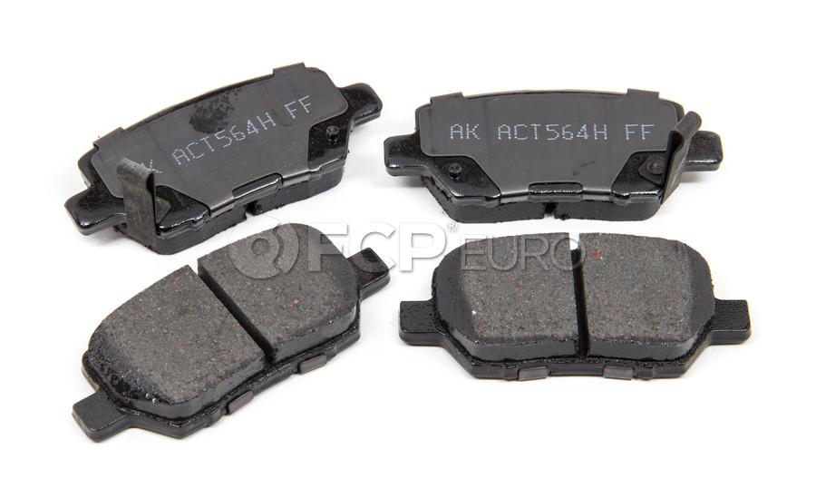 Volvo Brake Pad Set - Akebono ACT1090